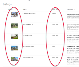 Both Picture and hyperlink fields in a SharePoint view