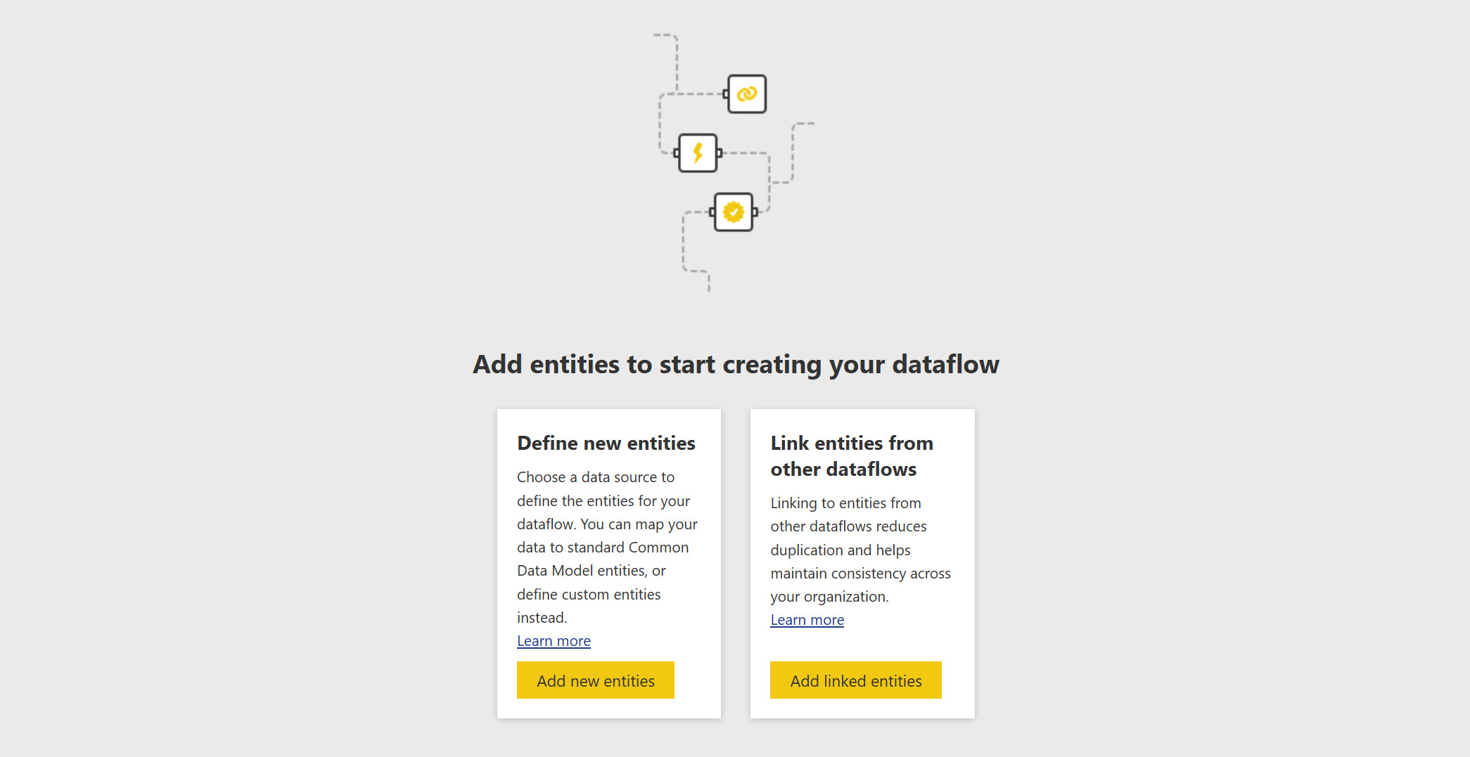 Power BI dataflows